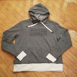 NWT size L Under Armour threadborne hoodie